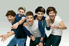 Louis Tomlison. Niall Horan. Liam Payne. Zayn Malik. Harry Styles