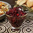 Cosmopolitan Cranberry Sauce. First cranberry sauce recipe I have seen with vodka in it.