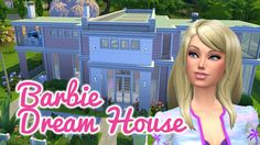 The Sims 4 Speed Build — Barbie Dream House