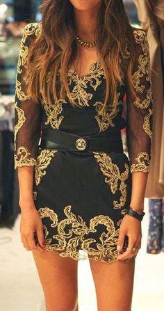 Gorgeous Baroque Dress