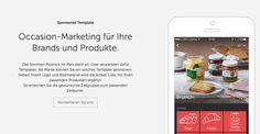 Occasion-Marketing für Ihre Brands und Produkte mit Sponsored Templates in der Bring! Einkaufsliste.