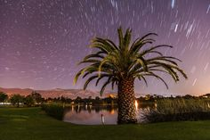 "500px / Photo ""Star Trails over La Cumbre Country Club"" by Björn Freiherr"