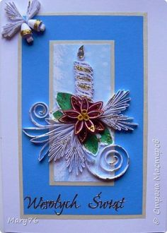 Открытка Новый год Квиллинг Новогодние открытки Бумага Бумажные полосы Клей фото 2