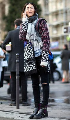 8 Street Style Looks to Steal from Paris Fashion Week