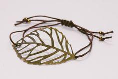 diy bracelet leaf