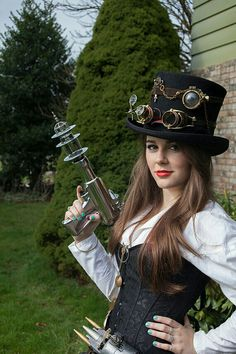 Steampunk - love the hat