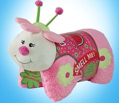 Sweet Scented My Pillow Pets Plush Watermelon Ladybug These new Sweet Scented Pets are adorable folding plush that smell like delicious childhood summer treats! These super-soft chenille stuffed anima
