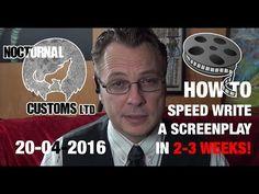 Film Advice: Speedwriting a feature script in weeks - Speed Writing, The Script, 3 Weeks, Filmmaking, Advice, Tutorials, Cinema, Tips, Film Making