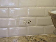 Clear Beveled Glass Switch Plates Paint The Back Side To