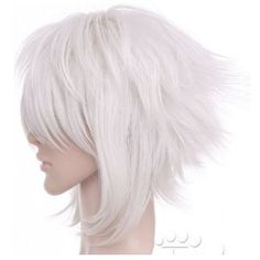 Short Silver White Anime Cosplay Costume Wig Hair $26.95