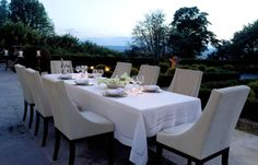 Yves Delorme Diner Table Linens | Gracious Style