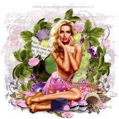 Ria's PSP Paradise: Love Always Hopes - PTU Tut - L'Amour De Ma Vie - Jackie's Jewels