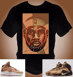 Lebron James 12 X Cork T-Shirt Made to match Lebron Cork Shoes c039516e8