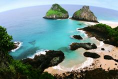 Islands of Fernando de Noronha Brazil    An adventure holiday amateur would be fascinated by this small group of islands so close to the Brazilian coast. The home of a varied marine life, the islands are an interesting combination of cliffs and beaches.