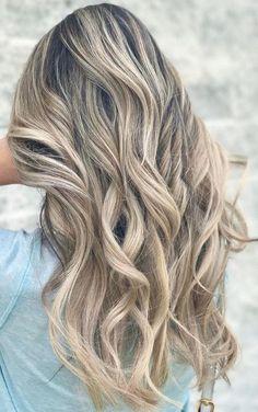 beige blonde highlights
