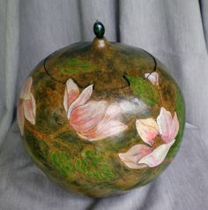 Mississippi - decorated gourd