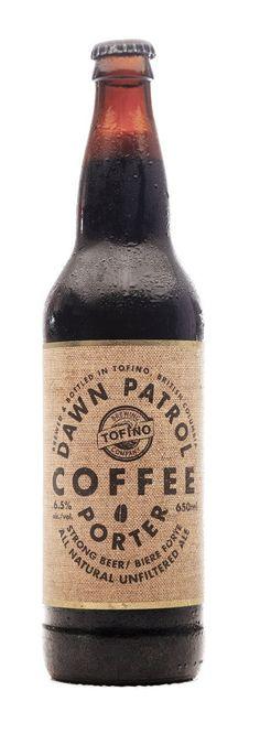 Dawn Patrol Coffee Porter by Tofino Brewing @ Bird Liquor Store Victoria BC