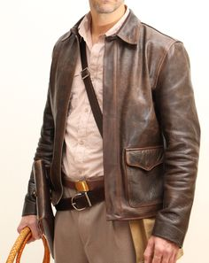 Men's Leather Jackets: How To Choose The One For You. A leather coat is a must for each guy's closet and is likewise an excellent method to express his individual design. Leather jackets never head out of styl Jacket Style, Vest Jacket, Revival Clothing, Adventure Style, Mens Gloves, Leather Men, Leather Jackets, Bomber Jackets, Menswear