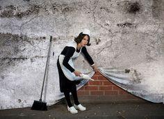 Banksy's Artwork Recreated in Real Life   Bored Panda