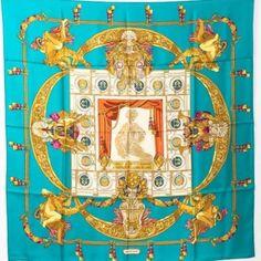 Charles Garnier, Burberry Shop, Classic Handbags, Designer Scarves, Icon Design, Vintage Outfits, Silk, Accessories, Hermes Scarves