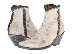 Old Gringo Monica Boots in Beige - Western styling and feminine elegance - perfect for a cowgirl bride or a country wedding.