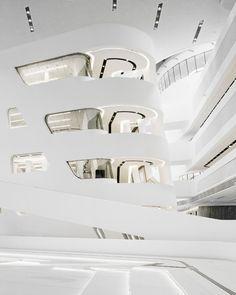 Futuristic Architecture: Learning Center by Zaha Hadid - Design Milk