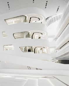 Library and Learning Center by Zaha Hadid.