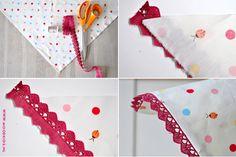 driehoeksjaal maken een zomerse DIY - Moodkids | Moodkids