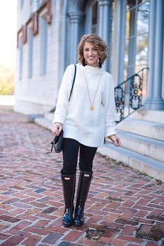 Woman Wearing Black Hunter Boots | Beverly J. Wilson | Flickr