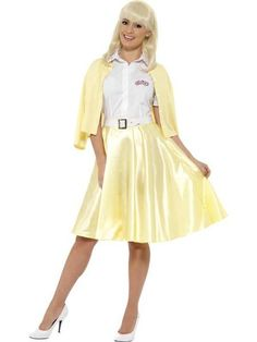 d249a8c1e9ef DIY Grease Halloween Costumes for Groups - Sandy, Danny, Pink Ladies, and  More Outfits. fancy panda