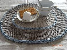 Мастер-класс: плетение сервировочных ковриков из бумажных трубочек - Ярмарка Мастеров - ручная работа, handmade