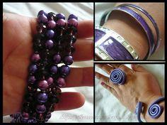 Morado Mania, compra de accesorios! / Purple Fashion accessories haul! ~ IleanaRecommends