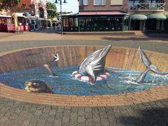 Streetart in de Koog