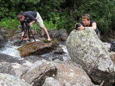 Einsatz unter erschwerten Bedingungen: Urs und Sandra, Tessinwochende mit der Freitag M-Art-Klasse, © Tim Davoli, August 2012