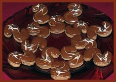 Obrazek Christmas Sweets, Christmas Cookies, Le Chef, Gingerbread Cookies, Tea Lights, Mousse, Biscuits, Candles, Desserts