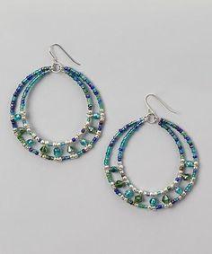 Beaded hoop earrings. Craft ideas from LC.Pandahall.com Diy Σκουλαρίκια 6dd4dcb951c