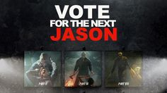 Vote for the next Jason in the 'Friday The 13th' video game