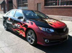 Toyota Hoopfest - Vehicle Wrap