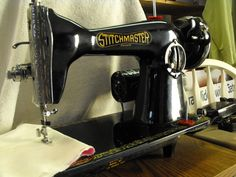 Stitchmaster sewing machine 39.99 Vintage Sewing Machines, Thrifting, Antique Sewing Machines