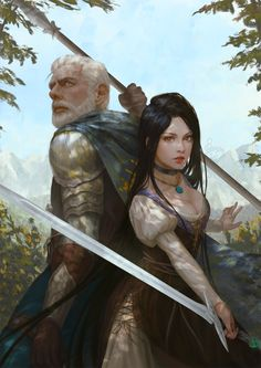 """cyrail: """" THE SWORD KEEPER by InaWong Featured on Cyrail: Inspiring artworks that make your day better """""""