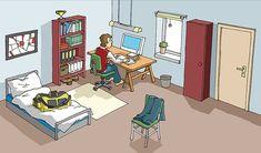 """https://flic.kr/p/dnwYL   zimmer_g   Illustration für das Online-Projekt der Deutschen Welle """"Deutsch als Fremdsprache"""""""