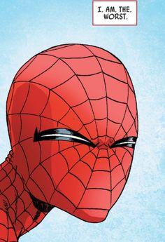 """""""I. Am. The. Worst."""" Spider-Man."""