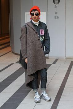 Japan Fashion Week Fall 2016 street style