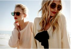 sweaters & sunglasses