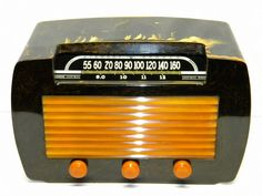 Stewart Warner Catalin Dark Green with Butterscotch Trim Am SW Tube Radio 62T36 | eBay