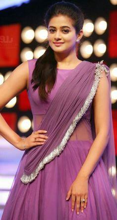 Beautiful saree and blouse Indian Bridal Sarees, Indian Gowns, Indian Outfits, Beautiful Bollywood Actress, Most Beautiful Indian Actress, Half Saree Lehenga, Anarkali, South Indian Actress, Beautiful Saree