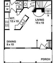 small cottage house plans small in size big on charm - Small Cottage 2