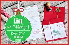 List od Świętego Mikołaja dla dzieci - spersonalizowany! - partymika Gift Wrapping, Cover, Books, Christmas, Gifts, Gift Wrapping Paper, Xmas, Libros, Presents