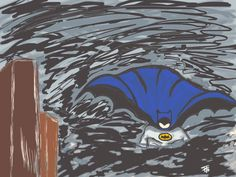 desenho digital - batman