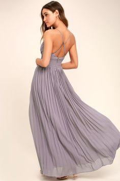 Depths of My Love Light Purple Maxi Dress 12